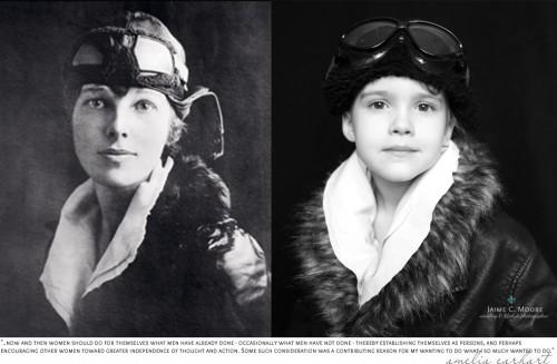 Amelia Earhart, primeira mulher a cruzar o oceano em voo solo