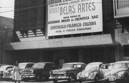 O Cine Belas artes na década de 1950 (Foto: Reprodução)