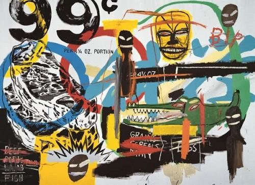 Obra de Basquiat (Foto: reprodução)
