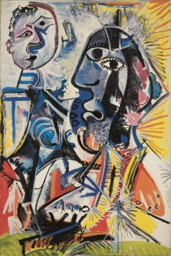 Obra de Pablo Picasso (Foto: reprodução)