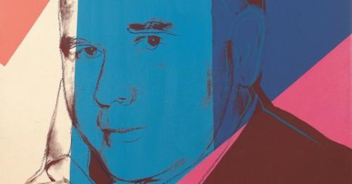 Autorretrato do colecionador feito por Andy Wahrol