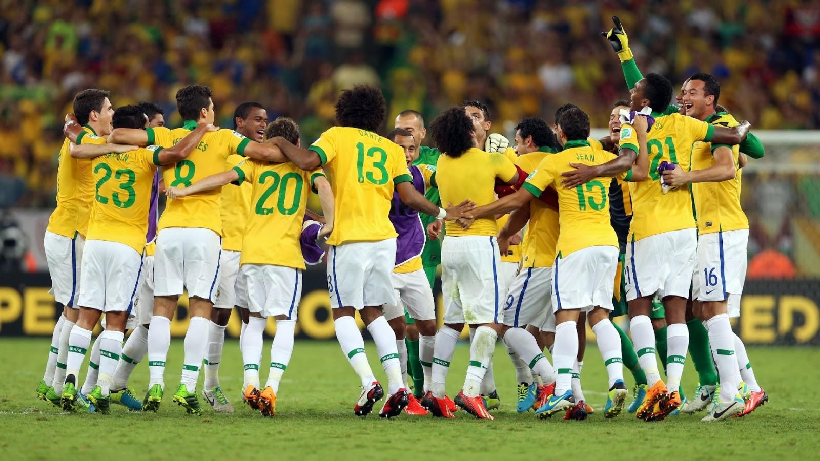 CBF divulga a numeração dos jogadores que irão disputar a Copa ... 8e8c4e4e84e2f