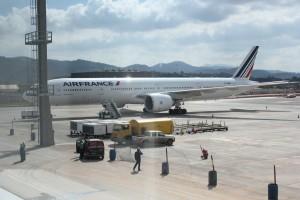 Terminal 3 - Avião da Air France