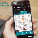 Aplicativo do GRU Airport ganha novas funções