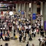 Preço do bilhete aéreo caiu 5% em 2014
