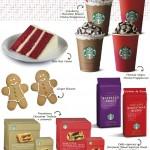 Starbucks apresenta cardápio especial para o Natal
