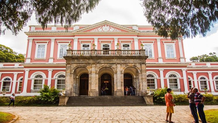 Museu imperial é uma das principais atrações de Petrópolis. Crédito: Embratur