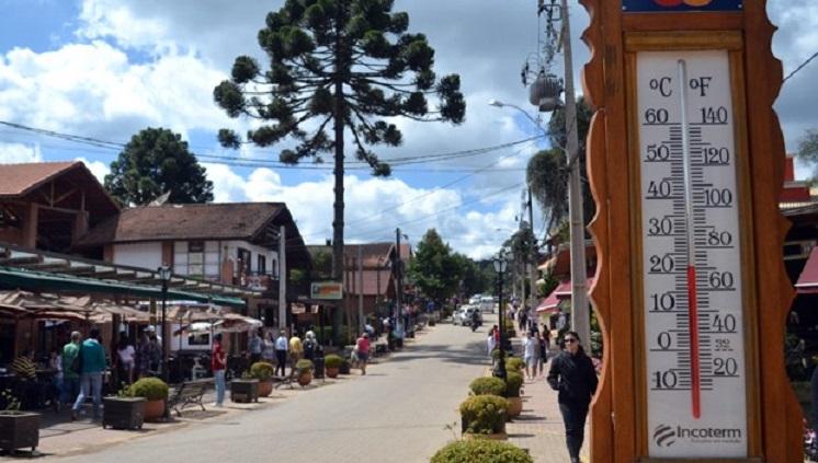 Na Serra da Mantiqueira, Monte Verde é procurada pelo clima ameno. Crédito: Prefeitura Municipal de Camanducaia