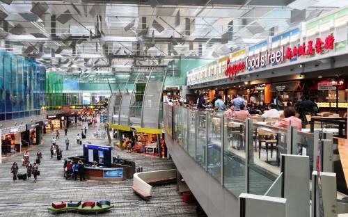 Lojas e restaurantes do Aeroporto de Changi (Singapura)