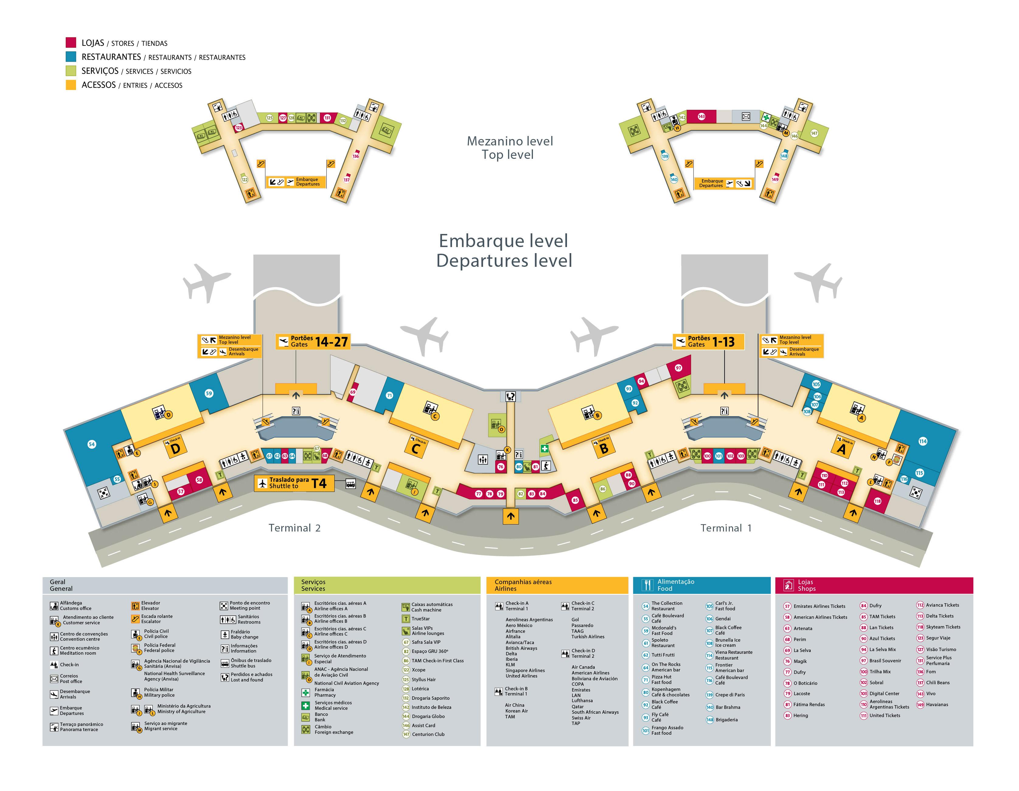 Terminais do Aeroporto de Guarulhos - Foto: Divulgação