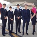 Qantas lança novos uniformes para as mulheres pilotos