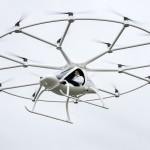 Volocopter realiza seu primeiro voo tripulado