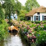 Vilarejo na Holanda parece cenário de contos de fadas