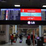 Combate à exploração sexual: painéis nos aeroportos trazem alerta