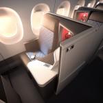 Delta apresenta primeira classe executiva com suítes na cabine