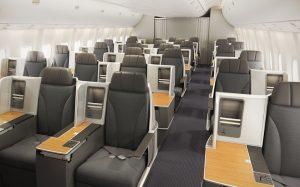 Classe executiva da American Airlines