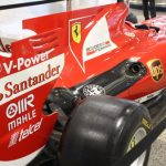 Ferrari de Fórmula 1 vira atração em Viracopos