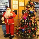 Aeroporto de Curitiba embarca no clima do Natal