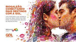 """A primeira criação do projeto tem como tema """"O Beijo"""", mostrando que ele une duas pessoas quando se reencontram - divulgação"""
