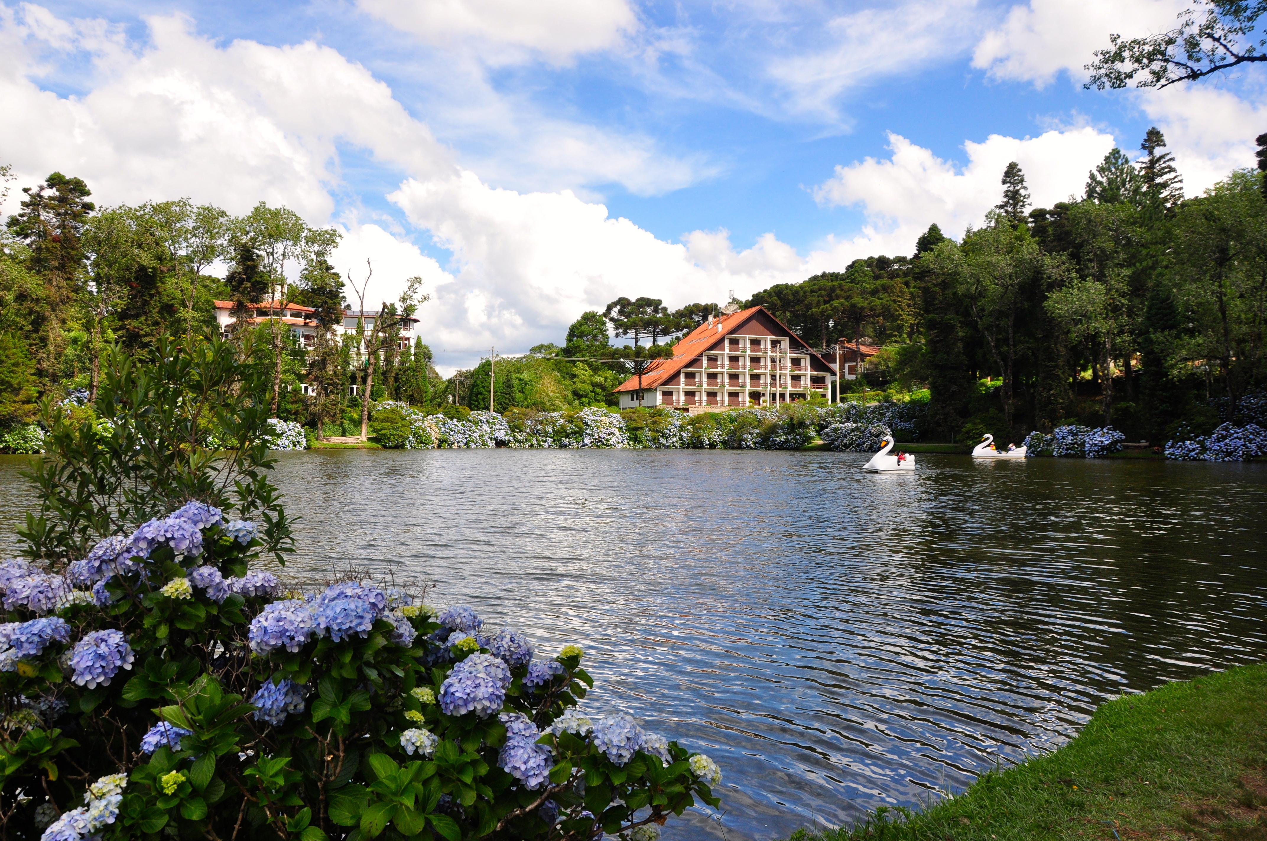 Lago Preto, em Gramado (Foto: divulgação)