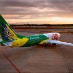Nova aeronave da Seleção Brasileira de Futebol fará seu primeiro voo