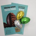 Para celebrar a Páscoa, Gol presenteia passageiros com mini ovos de chocolate da Ofner