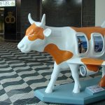 Cowparade desembarca no aeroporto de Congonhas