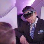Comissários na Air New Zealand utilizam aparelho para detectar emoções dos passageiros durante o voo