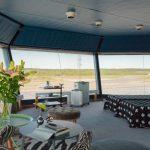 Aeroporto de Estocolmo transforma torre de controle desativada em  apartamento de luxo