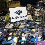 Receita Federal de Viracopos abre novo leilão com relógios, celulares e até drone