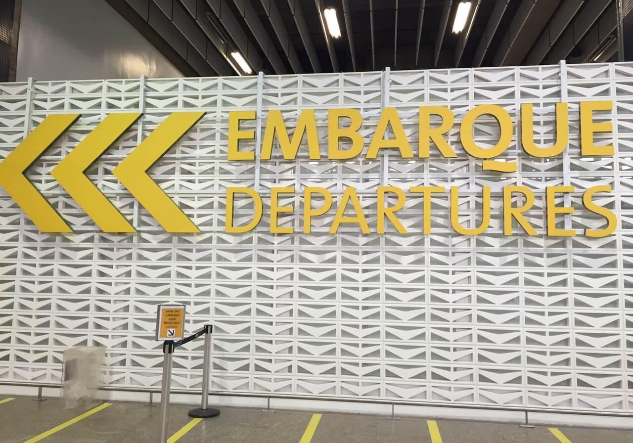 Aeroporto Gru : Gru airport registra volume recorde de passageiros internacionais