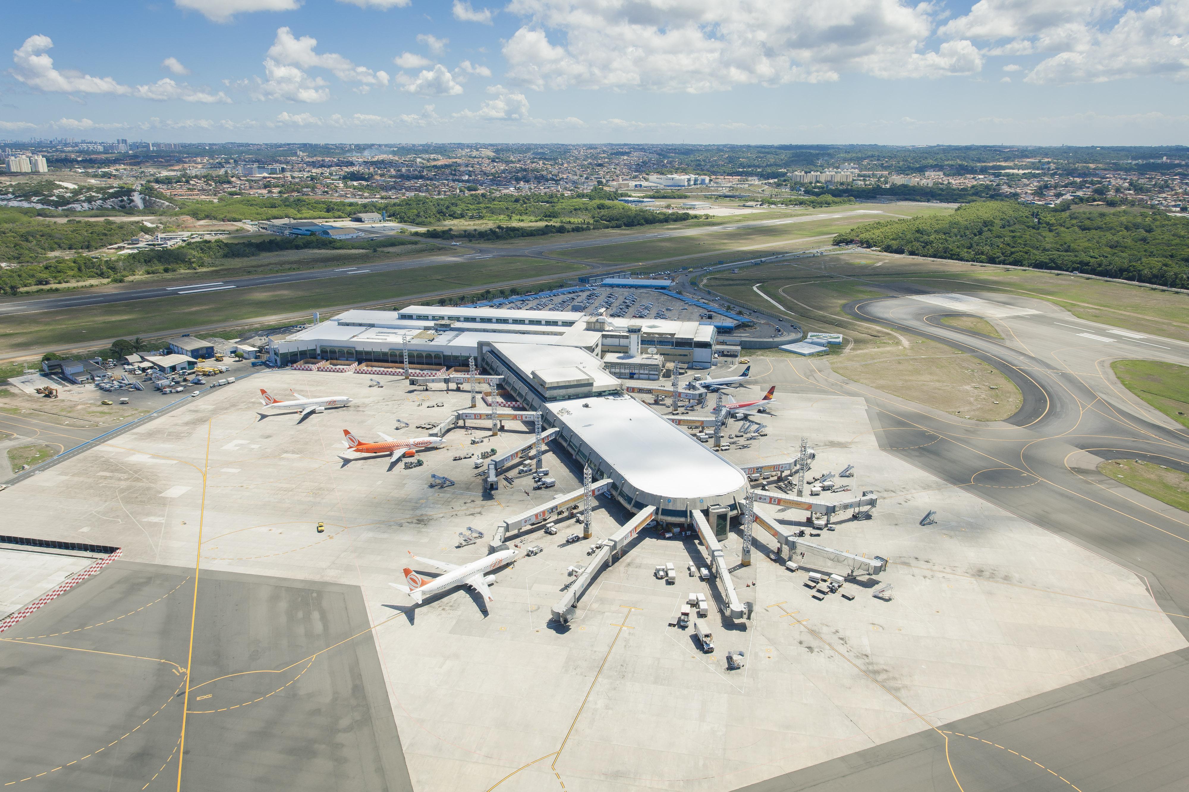 Aeroporto De Salvador : Vinci airports assume aeroporto de salvador revista embarque