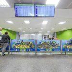 Aeroporto Juscelino Kubitschek, em Brasília, entra no clima da Copa do Mundo