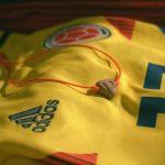 Avianca Colômbia cria amuleto especial para os jogadores da seleção colombiana