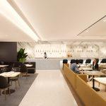 Qantas terá novo lounge Premium Singapura