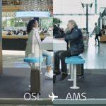 KLM lança holograma que dá dicas de viagem aos passageiros