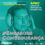 APAC ajuda a prevenir acidentes aéreos e garante a segurança de voo nos aeroportos